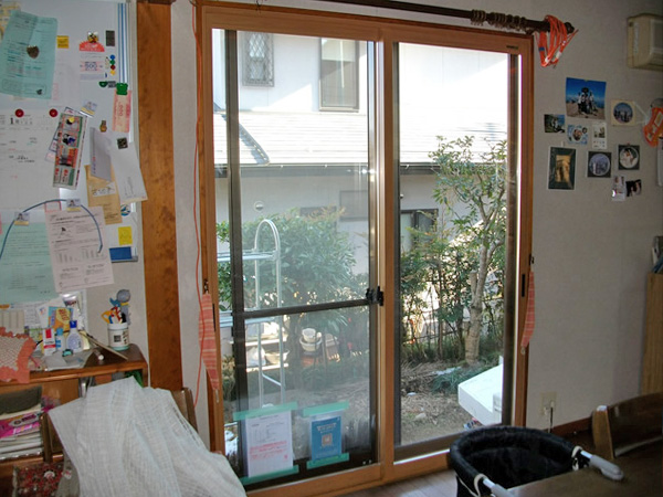 内窓(2重サッシ)追加施工 リフォーム施工事例