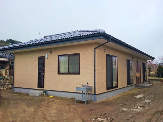 省エネ住宅ポイント対象 オールバリアフリー 松川町 M邸 新築施工事例